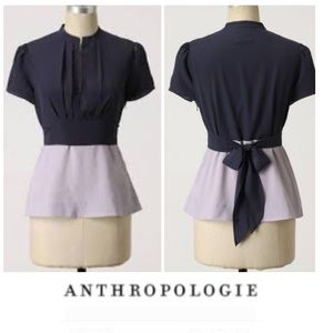 Anthropologie Girls from Savoy Night Blouse